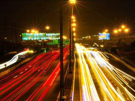 cityscape traffic on motorway  photo