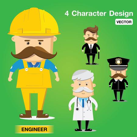 character design vector