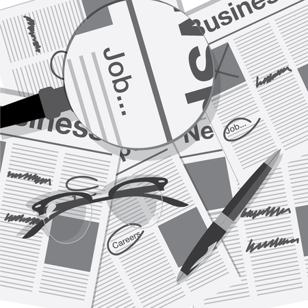 jobs: jobs search with newspaper