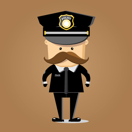 escaping: police character vector