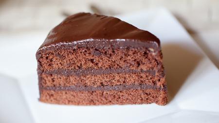 dark: Dark chocolate cake