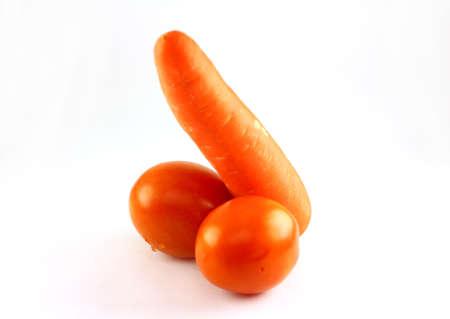 tomatos and carrot