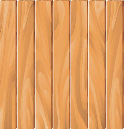 wood fence: plank