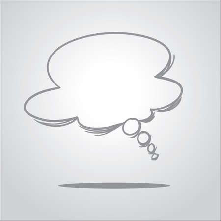 落書きスタイルで夢風船のベクトル イラスト  イラスト・ベクター素材
