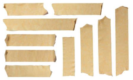 páska: Fotografie ze Ripped krycí páskou na bílém