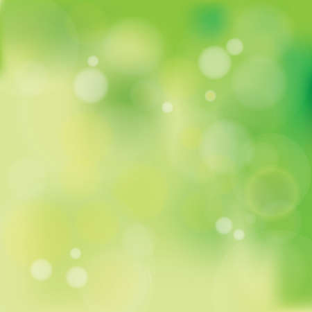greenish: Vector illustration of Natural Pastel Greenish Bokeh Background with blurry white circles