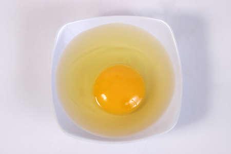 food photography: Food photography closeup photo of raw egg