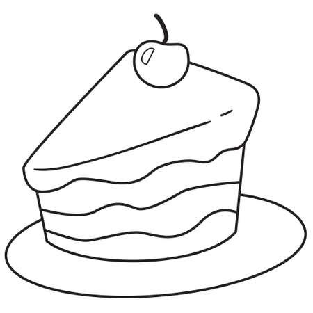 Ilustración Del Vector De Comidas Rápidas, Dibujo De Tiza En La ...