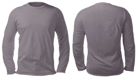Free Tshirt Template Black Long Sleeve Mocking Shirt Mockup