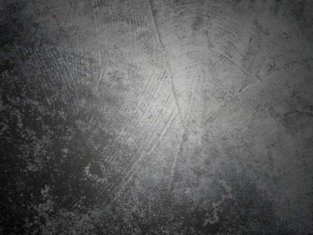 Grunge cement concrete texture of old wall or floor, abstract obsolete surface with cracks background