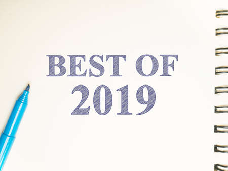 Best of 2019, last year review in life, business, relation, and preparing for new year 2020 resolutions