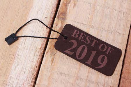 Beste van 2019, evaluatie van vorig jaar in het leven, zaken, relatie en voorbereiding op nieuwe voornemens voor het jaar 2020
