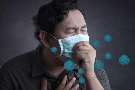 Corona virus, 2019-nCoV OR COVID-19. Novel Coronavirus. Similar to MERS CoV or SARS virus (severe acute respiratory syndrome). Health care and medical concept