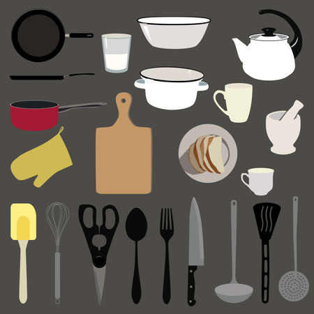 stuff: Kitchen stuff set