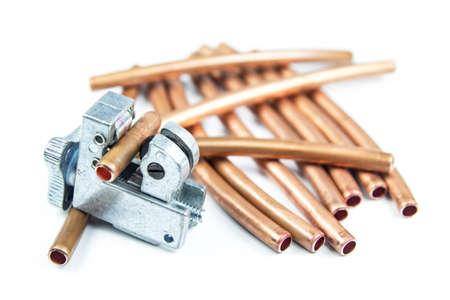 koperen leiding: Tube cutters en koper Pipe