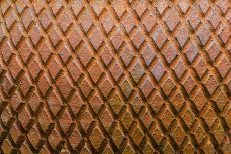 trapezoid: Close up shot texture of trapezoid form