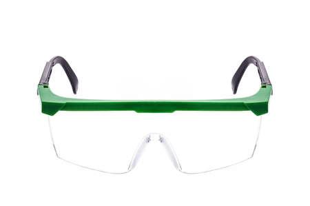 safty: Safty glasses on isolate white background