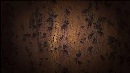 rust: Vector background of rust metal. Grunge brown texture.