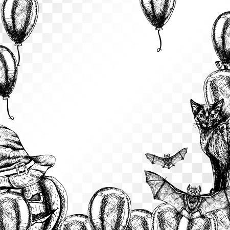Atemberaubend Halloween Katze Vorlage Zeitgenössisch - Beispiel ...