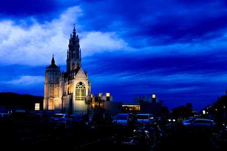 notre: Notre Dame Marinoa Stock Photo