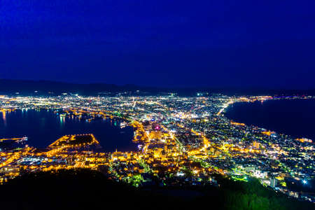 The city of Hakodate, Japan Banco de Imagens