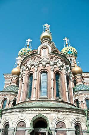 쏟 았 어 혈액에 우리의 구세주의 교회, 세인트 피터 스 버그, 러시아 스톡 콘텐츠