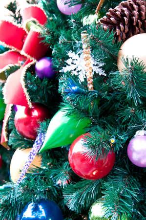 クリスマス ツリーやリースの飾り