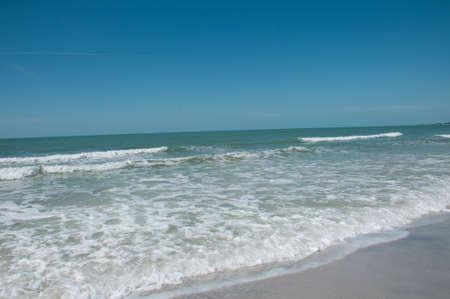 海、波、空 写真素材