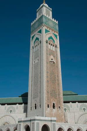 Hussain Mosque in Casablance