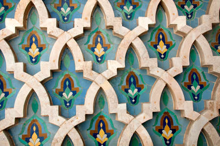 番目のタイル作品をモザイク カサブランカでエルのハッサム モスク
