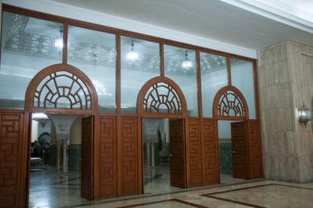 エル ・ ハッサン モスクでお風呂への入り口