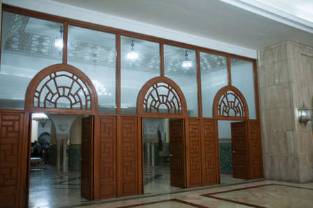 Entrance  to the baths at the El Hassan Mosque,  Editorial