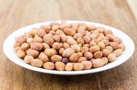 arachis: Raw peanuts or arachis Stock Photo