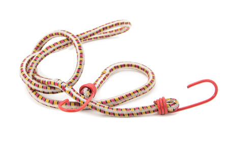 karateka: belt isolated on a white background Stock Photo