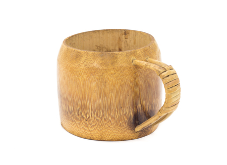 self made: Traditional handcrafted mug cup perfect for tea, coffee or beer Stock Photo