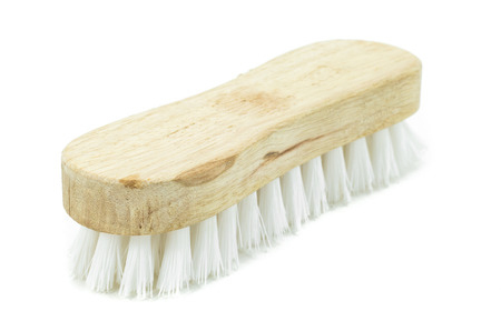 carpet clean: cleaning brush