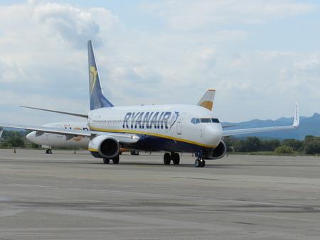Avion Airport platform Gerona