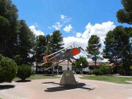 Plane. Base Aerea Los Llanos. Albacete