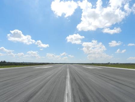 Runway airport 写真素材