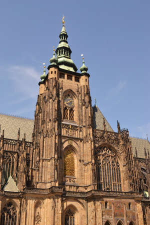 medioeval: Basilica of Prague - Czech Republic - Europe