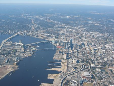 jacksonville: Aerial of Jacksonville