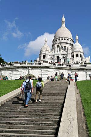 Basilica on montmartre, a Monument of Paris Éditoriale