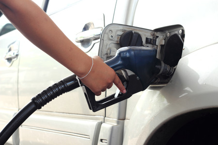 fillup: Gas Fill-up  Stock Photo