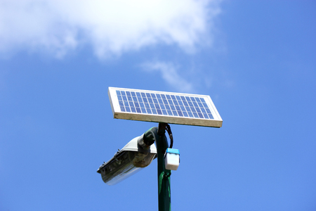 solar energy street lamp  photo