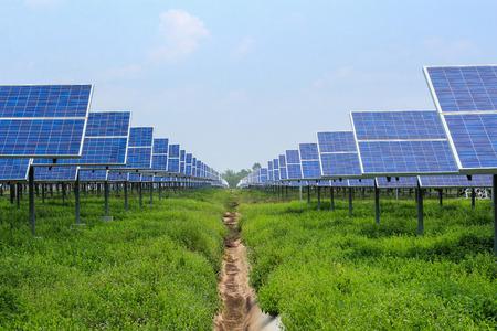 solar panel alternative  energy from the sun photo