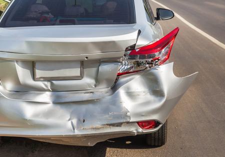 路上事故クラッシュ