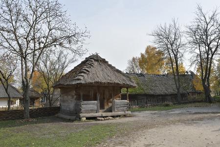 Peasant house Фото со стока