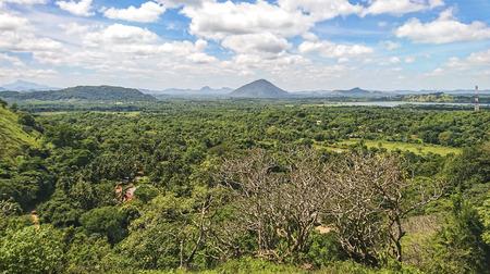 Beautiful landscape of Sri Lanka.