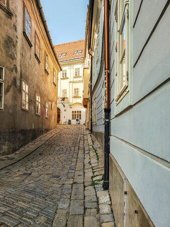 Fragment of the town of Bratislava, Slovakia. It?s a special ?spirit of antiquity? hovers.