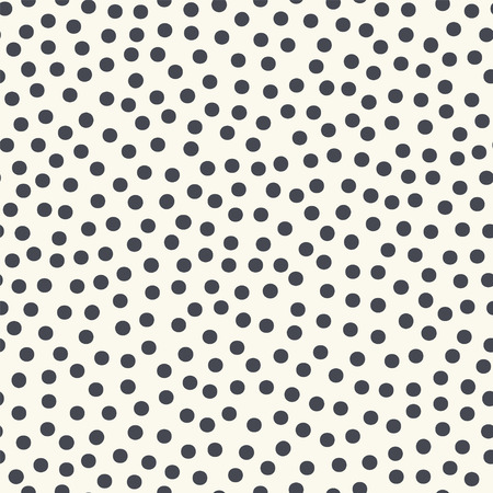 A Seamless pattern with gray polka dots Vector.